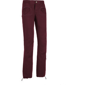 E9 Onda Slim Trousers Women, magenta